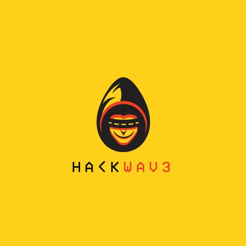 Hacker logo with the title 'H4CK WAV3'