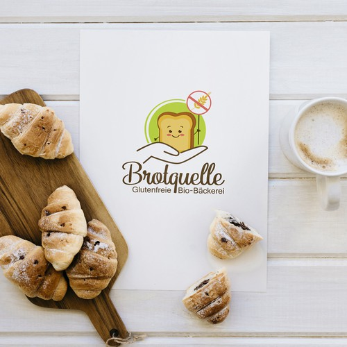 Bread logo with the title 'Brotquelle'