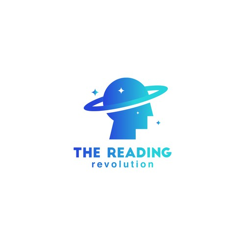 Solar system logo with the title 'The Reading Revolution'