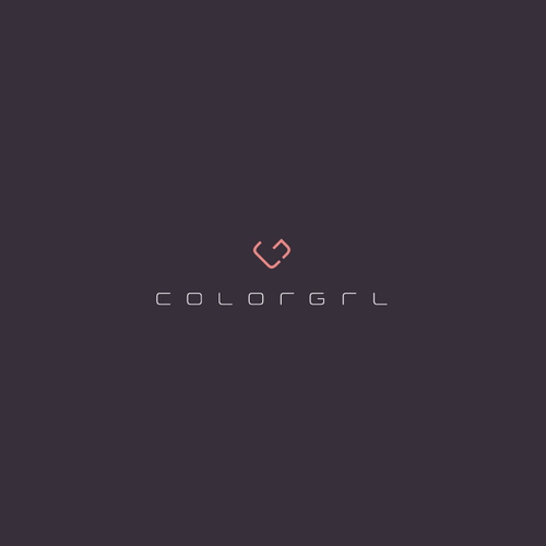 Daughter logo with the title 'ColorGrl Logo'