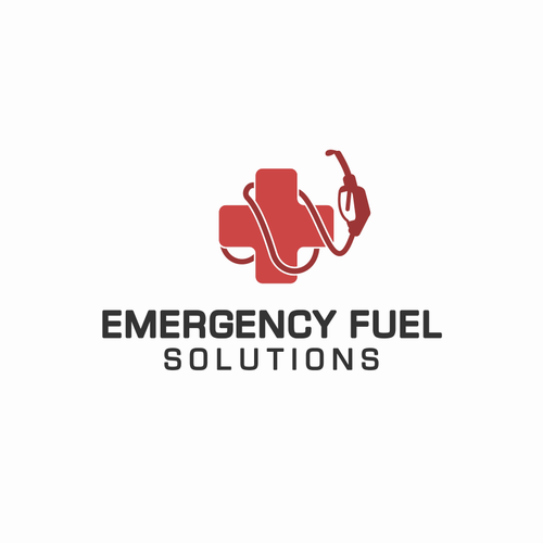 Emergency design with the title 'Emergency Fuel'