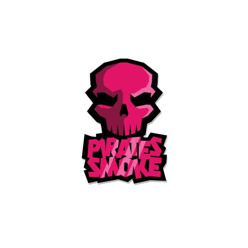 Exhaust logo with the title 'Pirates Smoke'