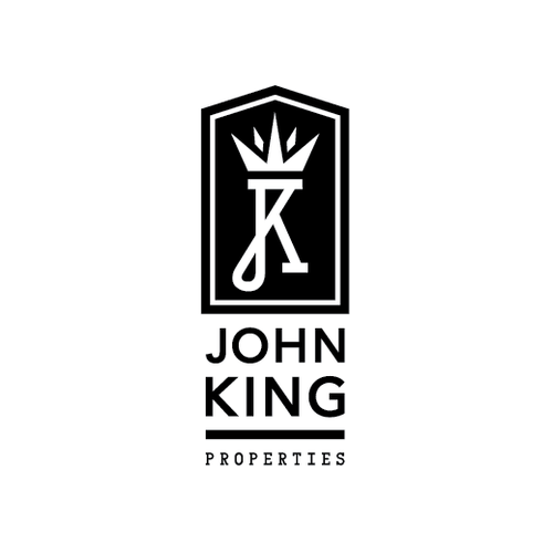 Playing card logo with the title 'Logo concepts for Real Estate firm'