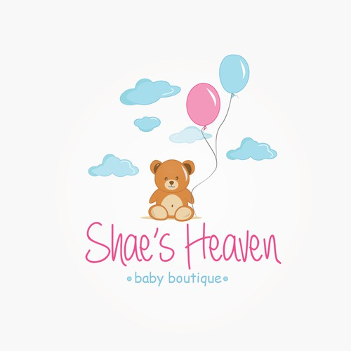 Teddy logo with the title 'Shae's Heaven'