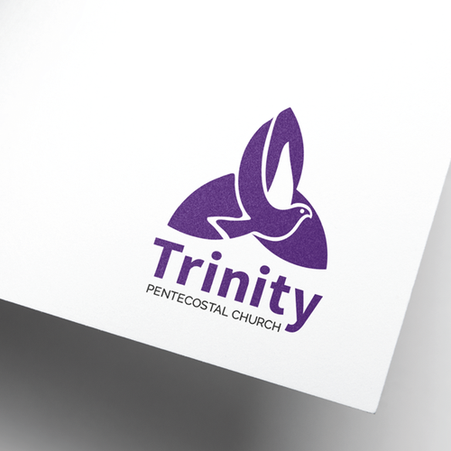 Trinity design with the title 'Logo concept for a church '