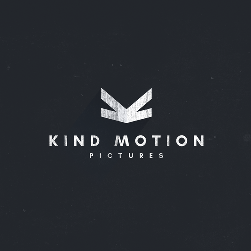 Quadcopter logo with the title 'kind motion pictures'