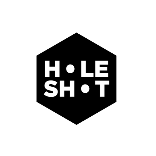 Metal brand with the title 'HoleShot Brand Package'