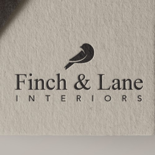 Finch design with the title 'Convey our Sophisticated Brand with a Dignified Design'