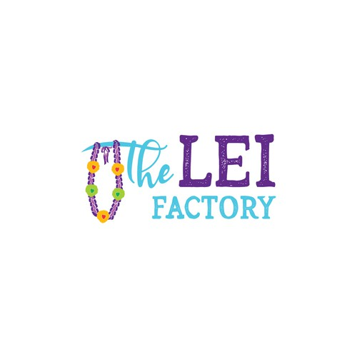 Supply logo with the title 'The Lei Factory'