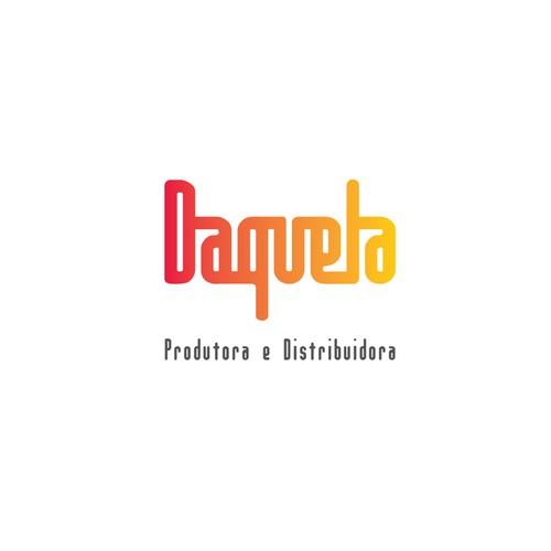 Distributor logo with the title 'DAQUELA - creative, responsive, pictorial LOGO'