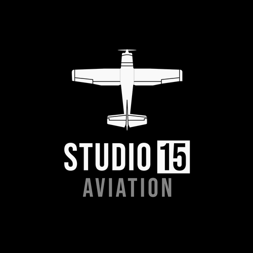 Pilot logo with the title 'Studio 15 Aviation'