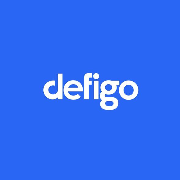 Musical design with the title 'defigo'