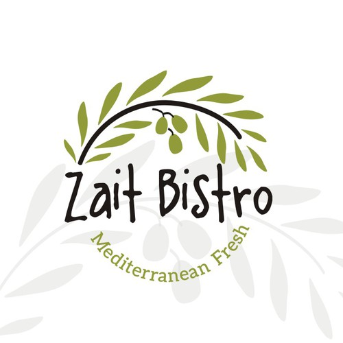 Food brand with the title 'Logo-design for Zait Bistro'