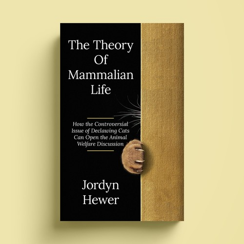 Philosophy design with the title 'The Theory of Mammalian Life'