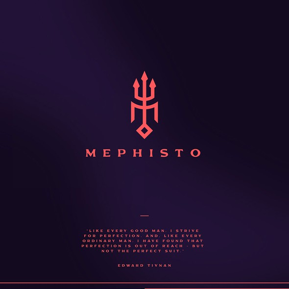 Quality brand with the title 'Mephisto Luxury Clothing'