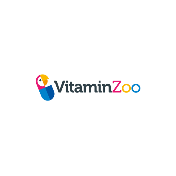 Compact design with the title 'Logo for Amazon vitamin seller'