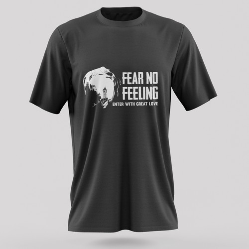 Love t-shirt with the title 'T Shirt Design To Inspire Humans To Feel Our Feelings'