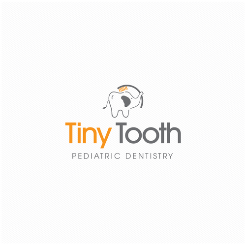 Tooth design with the title 'Tiny Tooth'