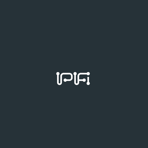 Gray logo with the title 'IPifi'