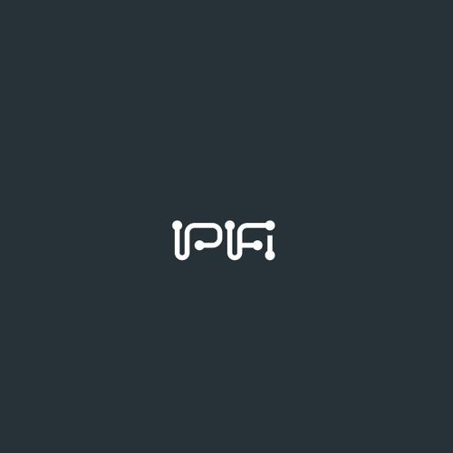 Dark logo with the title 'IPifi'