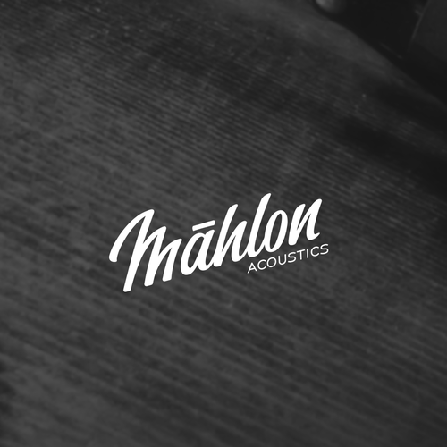 Acoustic design with the title 'Malon'