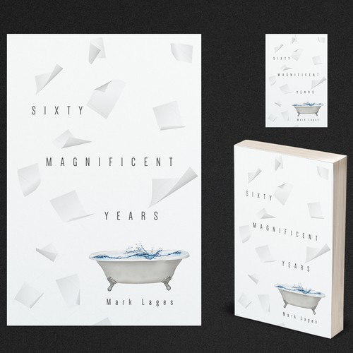 Eye-catching book cover with the title 'Sixty Magnificent Years'