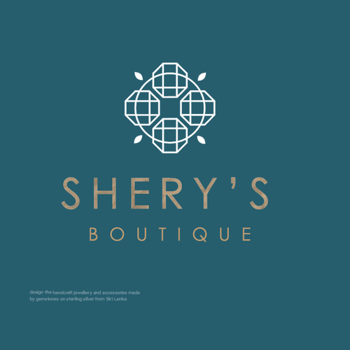 Woman logo with the title 'Shery's Boutique'