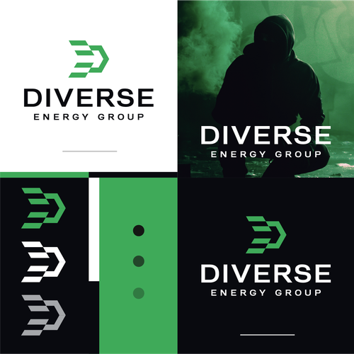 Cool logo with the title 'Diverse'