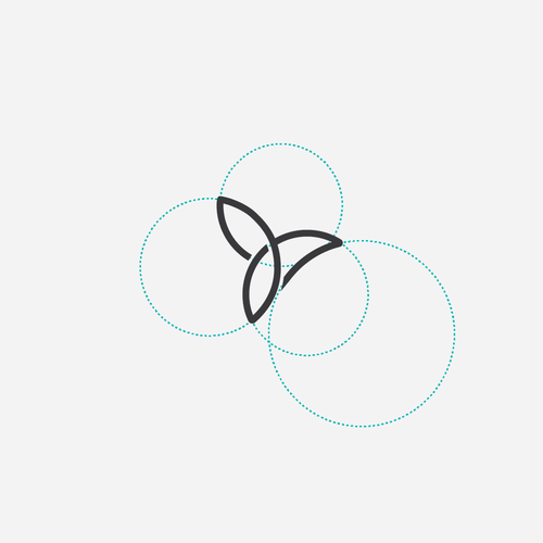 Smart logo with the title 'Motion, geometric and modern logo'
