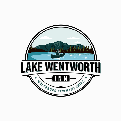 Inn design with the title 'Lake Wentworth Inn'