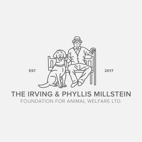 Grandpa logo with the title 'The Irving & Phyllis Millstein'