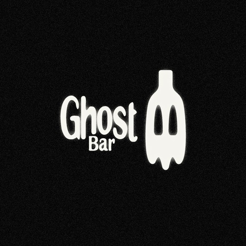 Bartender logo with the title 'Ghost Bar'