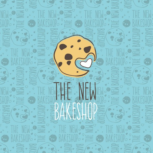 Sweet design with the title 'Handdrawn minimalistic cookie for a bakery'