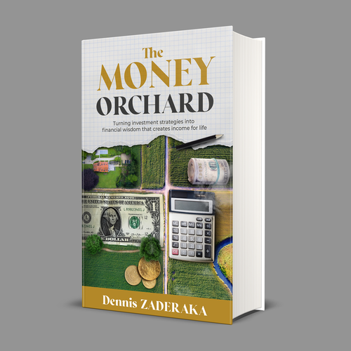 Orchard design with the title 'The Money Orchard'