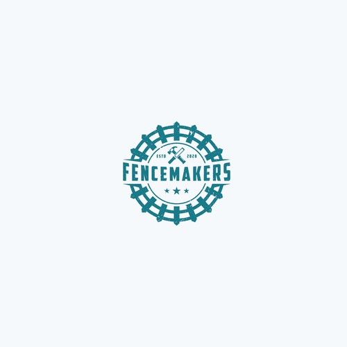 Fence logo with the title 'Fencemakers'