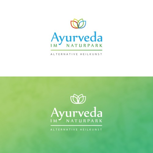 Reiki logo with the title 'Logodesign for a medicine/pharmacy company'