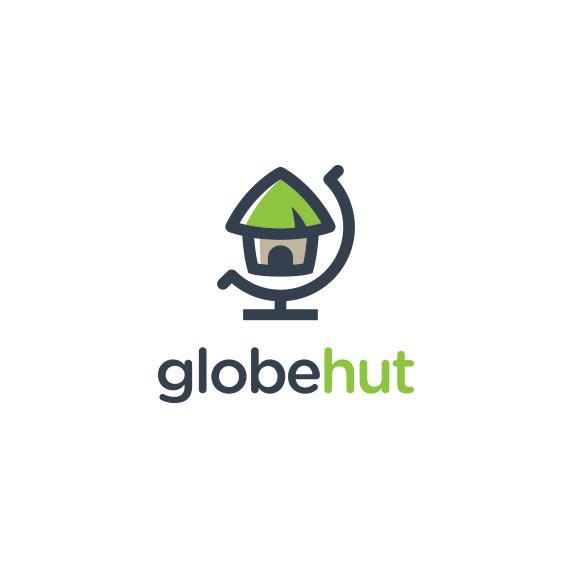 World logo with the title 'Logo for Globehut'