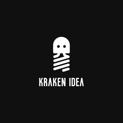 Octopus design with the title 'Kraken Idea'