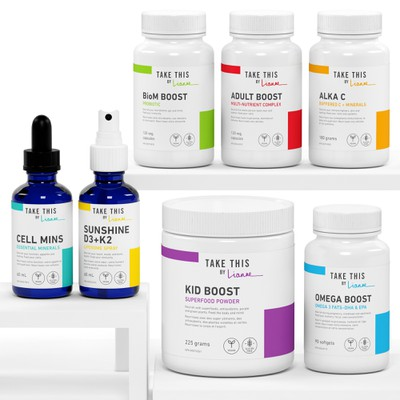 Take This by Lianne - New Supplement product Line
