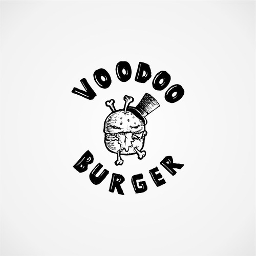 Voodoo logo with the title 'hamburger'