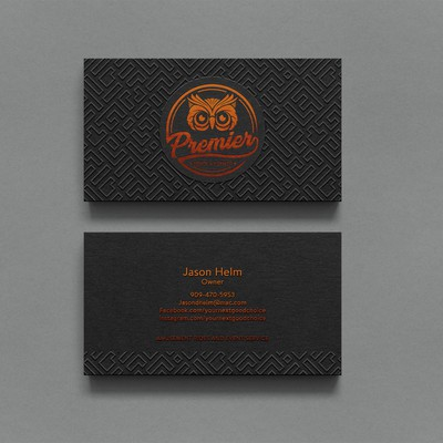 Letterpressed Business Card
