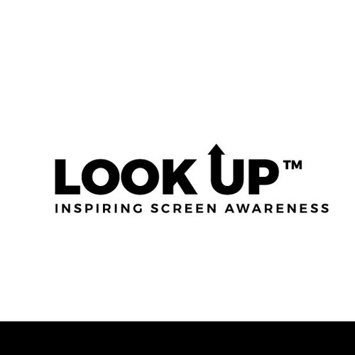 Non-profit design with the title 'Logo for Look Up'