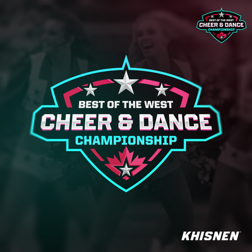 Championship design with the title 'Cheer & Dance Championship'