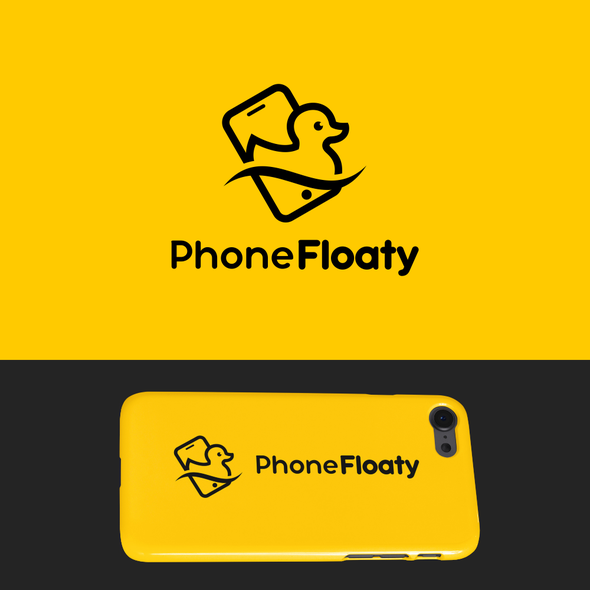 Inspiration brand with the title 'Phone Floaty'