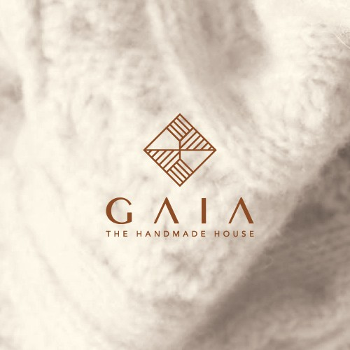 Knitting design with the title 'Gaia'