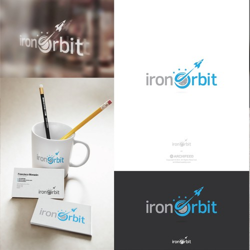 Orbit design with the title 'Iron Orbit'