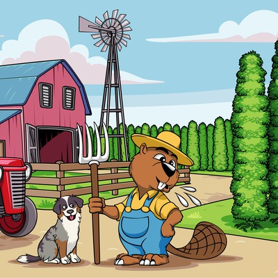 Spittin Beaver Farm Picture
