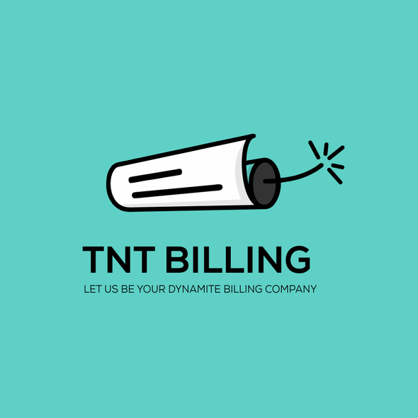 Dynamite logo with the title 'TNT Billing logo'
