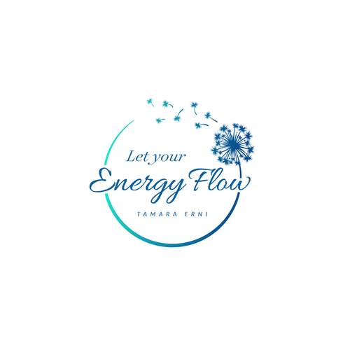 Sky design with the title 'Logo Let your Energy Flow'