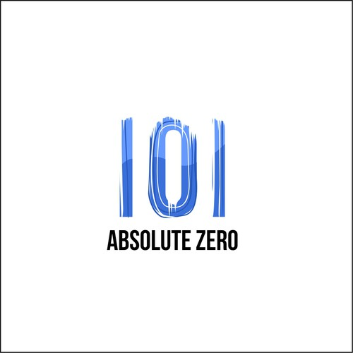 "Frozen logo with the title 'Logo concept for ""Absolute ZERO""'"